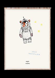Bilde av Space Traveller 30x40 cm