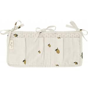 Bilde av quilted bed pockets - lemon