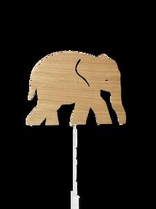 Bilde av Lamp Elephant Oiled Oak